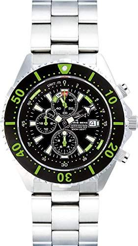 Chris Benz Uhr Taucheruhr Depthmeter Chronograph CB-C300-G-MB