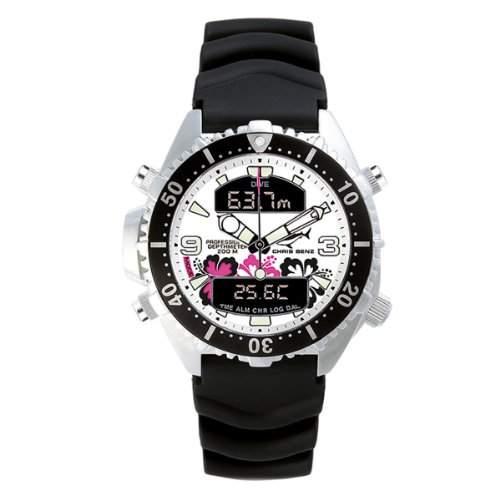 Chris Benz Unisex-Armbanduhr Analog - Digital Quarz Kautschuk CB-D-ALOHA-KB