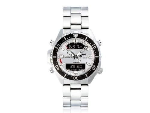 Chris Benz Unisex-Armbanduhr Digital Edelstahl CB-D-SILVER-MB