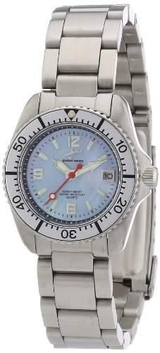 Chris Benz Damen-Armbanduhr XS Analog Edelstahl CBLHMBSI