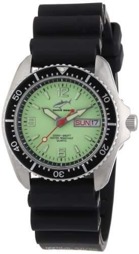 Chris Benz Unisex-Armbanduhr Analog Kautschuk CBMNKBSW