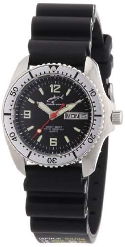 Chris Benz Unisex-Armbanduhr Analog Kautschuk CBMSKBSI