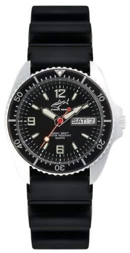Chris Benz Unisex-Armbanduhr Analog Kautschuk CBMSKBSW