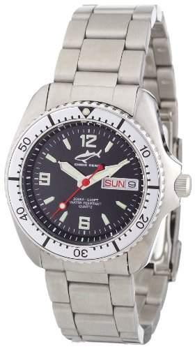 Chris Benz Unisex-Armbanduhr Analog Edelstahl CBMSMBSI
