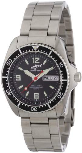 Chris Benz Unisex-Armbanduhr Analog Edelstahl CBMSMBSW