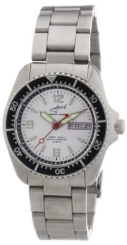 Chris Benz Unisex-Armbanduhr Analog Edelstahl CBMSIMBSW