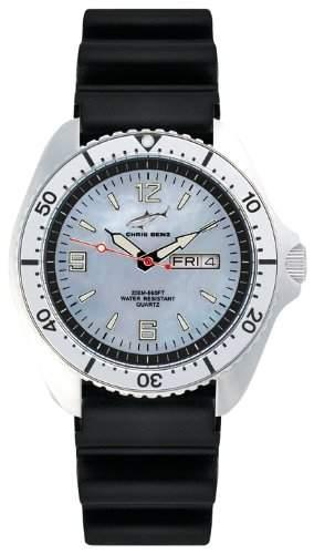 Chris Benz Herren-Armbanduhr XL Analog Kautschuk CBOHKBSI