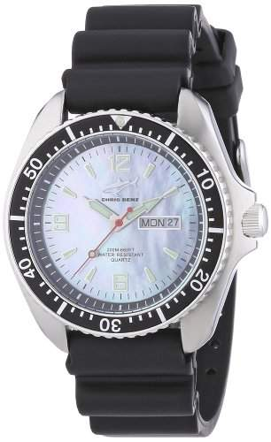 Chris Benz Herren-Armbanduhr XL Analog Kautschuk CBOHKBSW