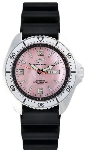 Chris Benz Herren-Armbanduhr XL Analog Kautschuk CBORKBSI