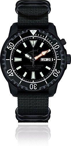 Chris Benz Defense Kommando Diver Tiefschwarz