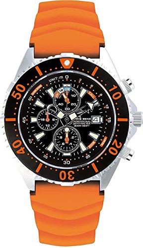 Chris Benz Uhr Taucheruhr Depthmeter Chronograph CB C300 O KBG