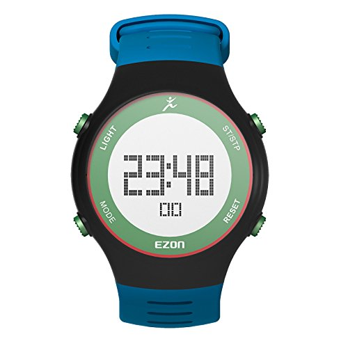 SHS Digital Armbanduhr mit Alarm Stoppuhr Countdown 50 Jahre Kalender L008