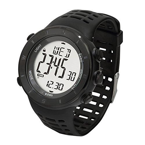SHS h017 F11 Wandern Outdoor Sport Armbanduhr mit Kompass Hoehenmesser Barometer Stoppuhr etc Funktion