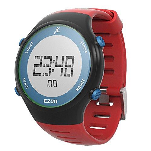SHS l008b11 Outdoor Rot Gurt Multifunktions Runing Sport Armbanduhr