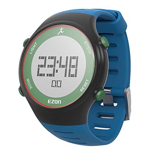 SHS l008b12 Outdoor blau Gurt Multifunktions Runing Sport Armbanduhr