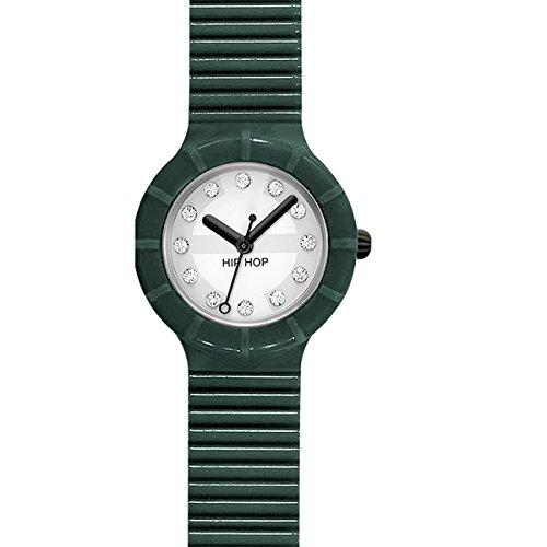 BREIL HIP HOP Uhren CRYSTAL zeit Dark Green hwu0504