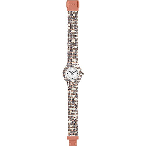 BREIL HIP HOP Uhren TWEED Unisex Peach and white HWU0620
