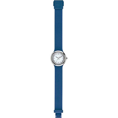 Uhr Damen Metal Blau hwu0716 Hip Hop
