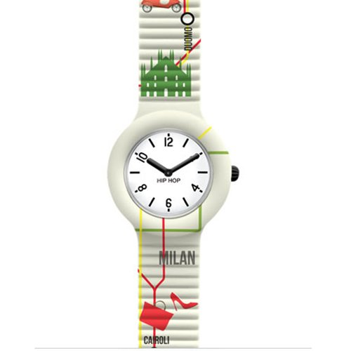 Uhr Damen Map City Milano hwu0683 Hip Hop