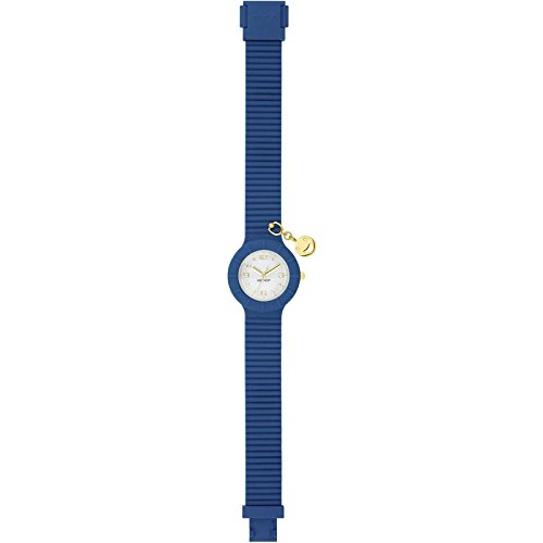Uhr Damen Piercing Smile Blau hwu0693 Hip Hop