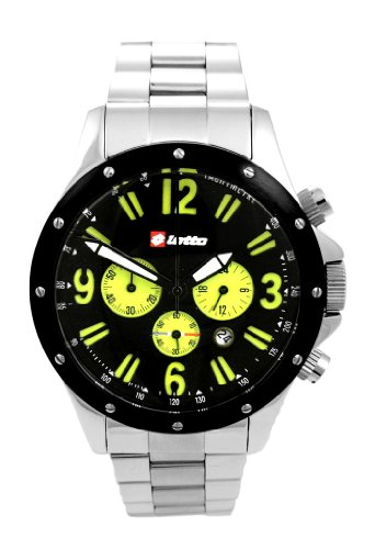 Lotto Herren Armbanduhr Analog Quarz Silber LM0006 03 56BR22AC