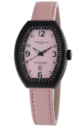 Montres De Luxe Damen EX L 8303 Estremo Quartz rosa Zifferblatt