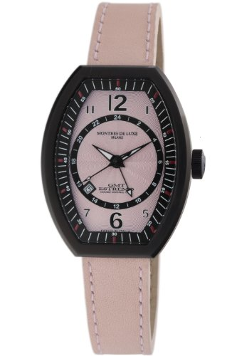 Montres De Luxe Damen EX L 9203 Estremo Quartz rosa Zifferblatt