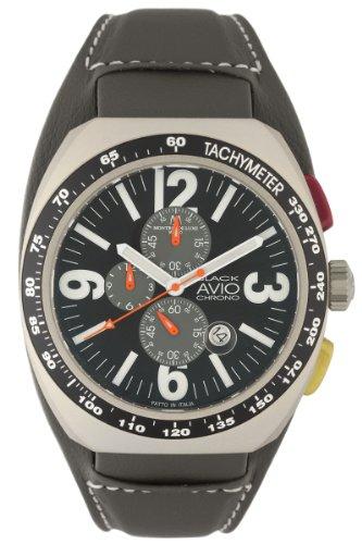 Montres De Luxe Herren BK4800 Avio Aluminiumgrau PVD Chrono Cuff Uhr