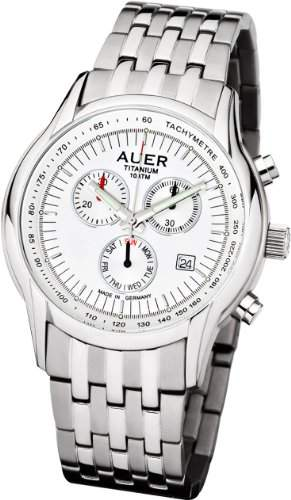 UAuer Titanium Classic ZU-411-SMR Uhr Made in Germany