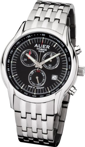AUER Titanium Classic TH 411 BMR Herrenchronograph Made in Germany