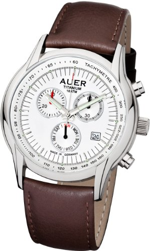 AUER Titanium Classic TH 411 SLBNR Herrenchronograph Made in Germany
