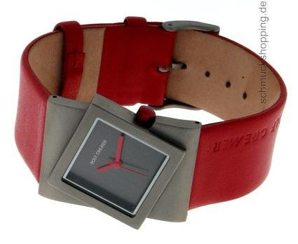 Rolf Cremer Turn 491818 Unisex Armbanduhr Rot
