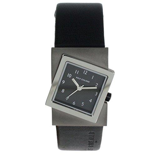 Rolf Cremer Turn 491819 Unisex Armbanduhr Schwarz