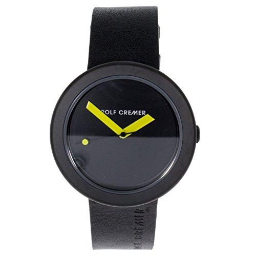 Rolf Cremer Rondo 493921 Unisex Armbanduhr schwarz