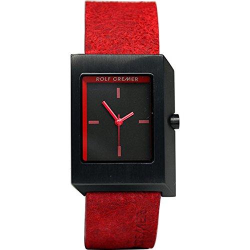 Rolf Cremer Frame 501604 Unisex Armbanduhr Rot