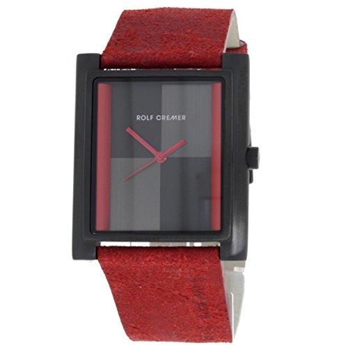 Rolf Cremer Akzent 502111 Unisex Armbanduhr Rot