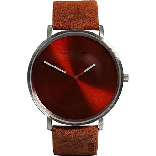 Rolf Cremer Flat45 501307 Unisex Armbanduhr Orange