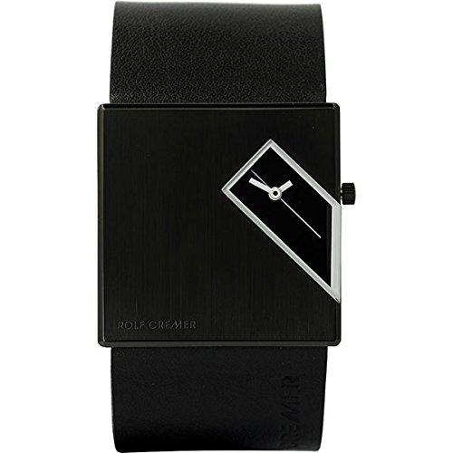 Rolf Cremer Straight Q 502205 Unisex Armbanduhr scchwarz