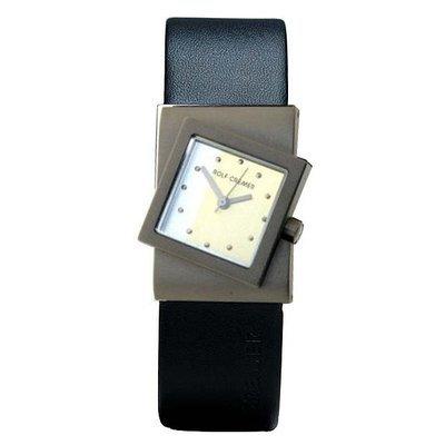 Turn Uhr silberfarben schwarz
