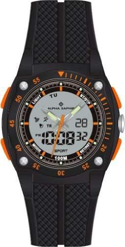 Alpha Saphir Herren-Armbanduhr 281A