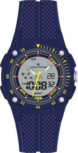 Alpha Saphir Herren-Armbanduhr 281C