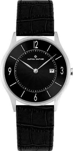 Alpha Saphir Herren-Armbanduhr 335M