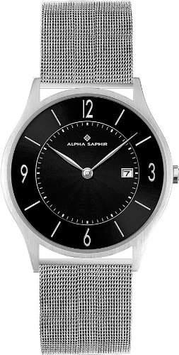 Alpha Saphir Herren-Armbanduhr 335O