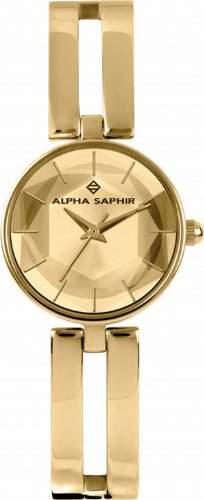 Alpha Saphir Damenarmbanduhr 346C