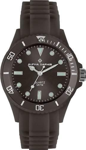 Alpha Saphir Unisex-Armbanduhr 370U