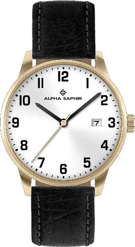 Alpha Saphir Quarz Analog 313G