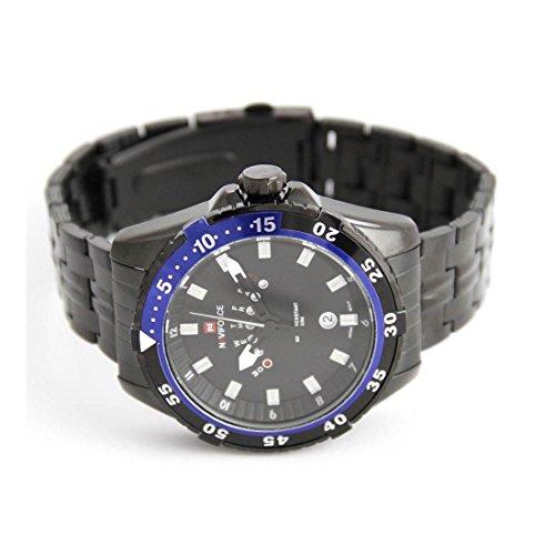 Armband Stahl schwarz naviforce 2568