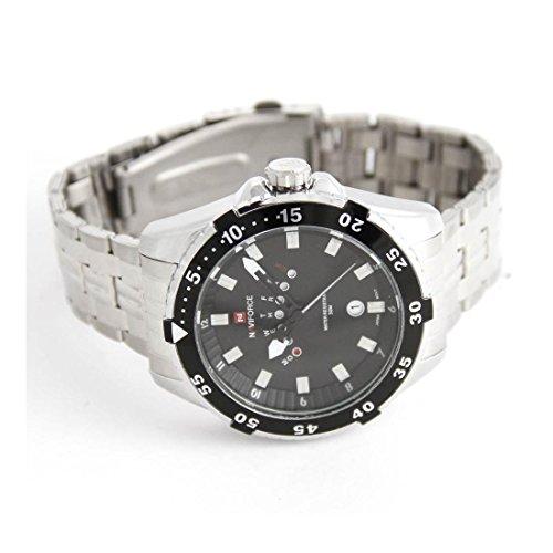 Zeigt Herren Fashion Armband Stahl naviforce 2258