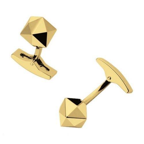 Dupont Manschettenknoepfe Palladium PVD Gold