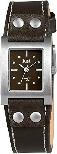 Just Watches Analog Quarz Leder 48 S3929 BR